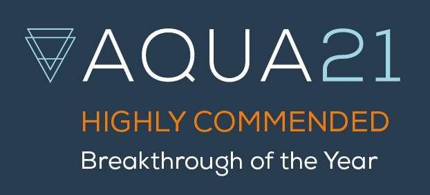 Aqua21 receives Highly Commended in Breakthrough of the Year at BusinessGreen Awards
